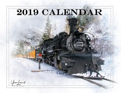 2019 Train Calendar