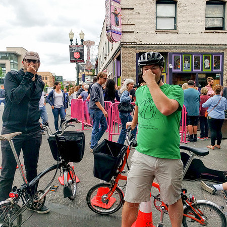 Bikeportland Brompton Urban Challenge 2016