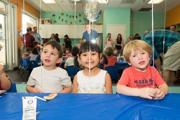 0616 Skye, Michael, Justus birthday party - Ms. Jharna's class