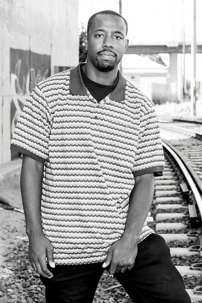 Portraits of hiphop artist Deandre Bradstreet