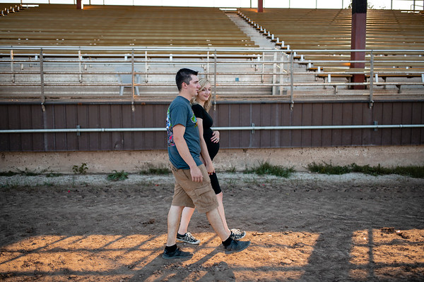 Baby S | Wisconsin Race Track Maternity Session