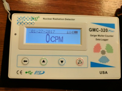 GMC-320 Geiger Counter