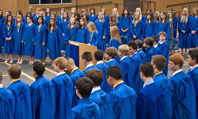 Serra Catholic - Ceremony of 8th Grade Grad
