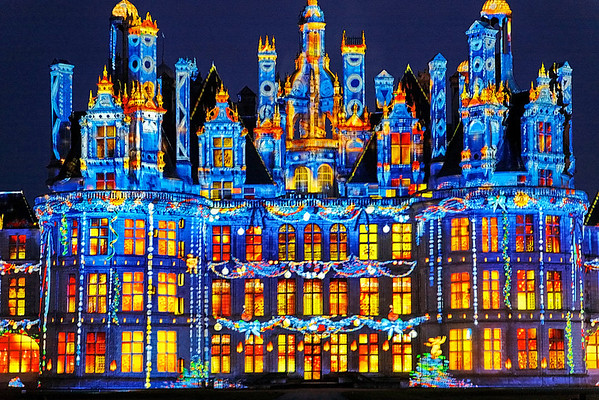 Chateau Chambord - Illuminations / spectacle equestre / expo