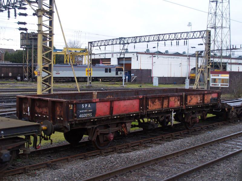 SPA 460095 Bescot Station Sidings 17/03/07.