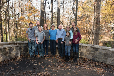 Carman, Knesper, Barnhouse family photos Thanksgiving 2018