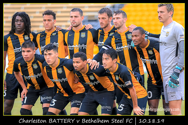 Charleston BATTERY v Bethlehem Steel FC   10.19.19