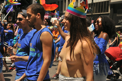 GAY  PRIDE  PARADE  NYC  2014