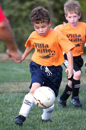 Villa Hills Soccer Club (Orange - Schneider) vs NKSL-Edgewood (DX862-Schultz)