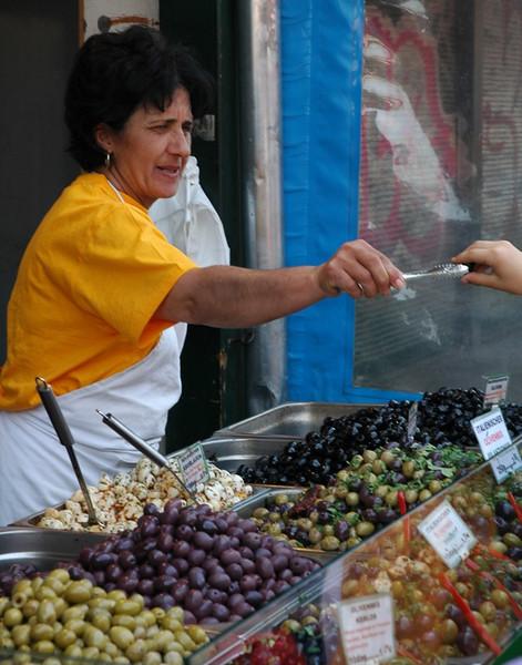 Olives - Naschmarkt, Vienna