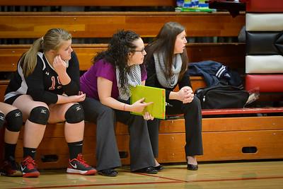 MASH Volleyball vs Pines Parent Night Oct 7 2014