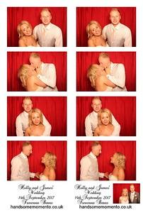 Holly and James'  Wedding at The Trevenna Barns 14-09-17