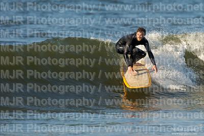 Surfing, Gilgo Beach, NY,  06.06.09