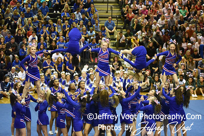 11-12-2016 Wootton HS at MCPS Cheerleading Championship Division 1 at Montgomery Blair HS, Photos by Jeffrey Vogt Photography