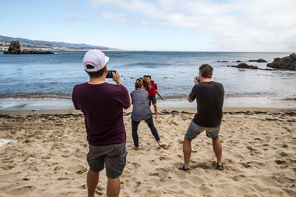 Behind The Scenes - Solid Branding McAfee Photographer David Casteel Creative Director Ted Holladay