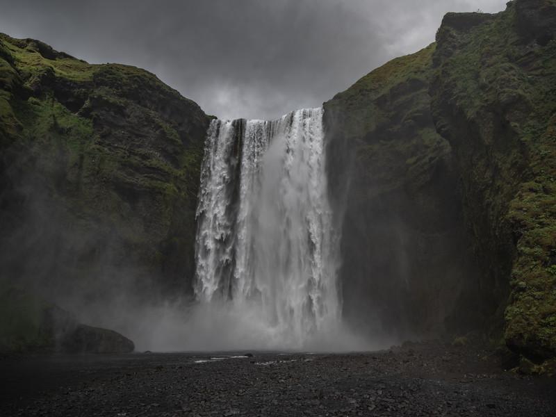 Waterfall Majesty    Photography by Wayne Heim