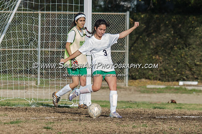 2015 Soccer JV Eagle Rock Girls vs La Salle 12Jan2015