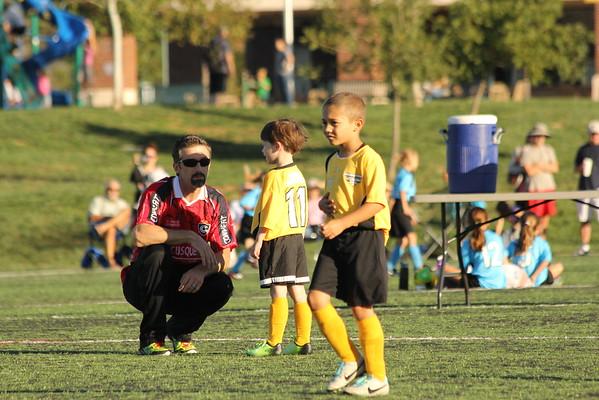 Mason and EJs Soccer 2014