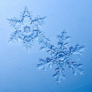 Alaska Snowflake Photos - Winter 2006-2007