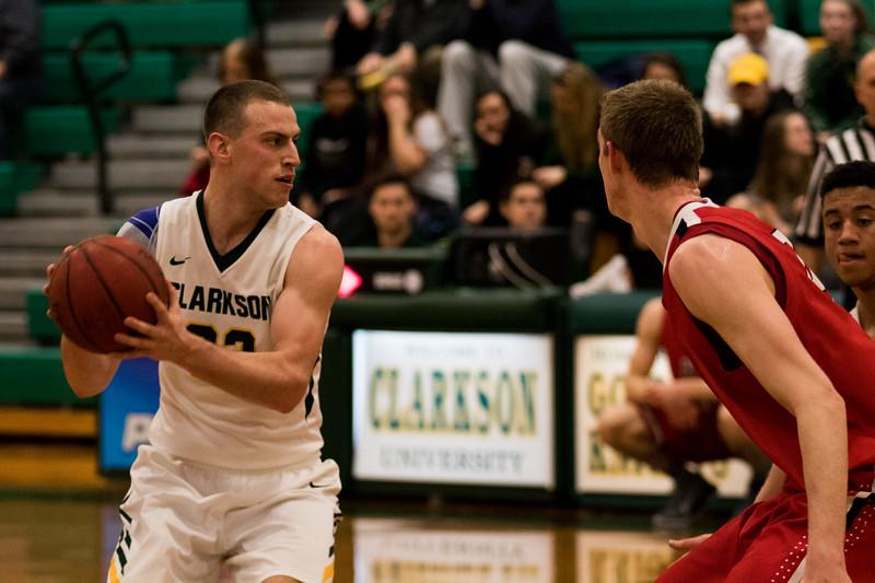 Clarkson Athletics: Men's Basketball vs. RPI Clarkson win 74 to 65.
