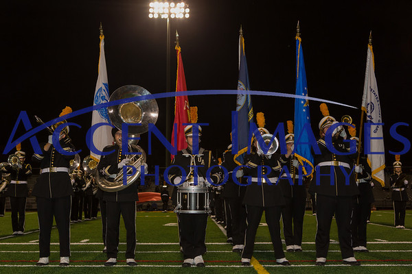 UAHS Marching Band and Fans 9/27