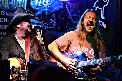 Mike Brookshire with Chris Hicks (from Marshall Tucker Band)