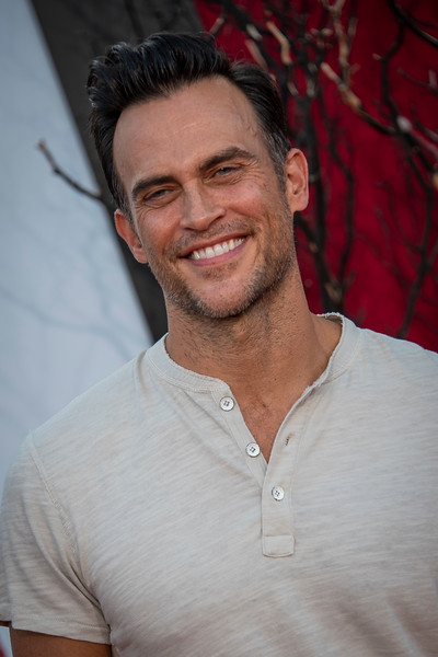 """WESTWOOD, CA - AUGUST 26: Cheyenne Jackson attends the Premiere Of Warner Bros. Pictures' """"It Chapter Two"""" at Regency Village Theatre on Monday, August 26, 2019 in Westwood, California. (Photo by Tom Sorensen/Moovieboy Pictures)"""