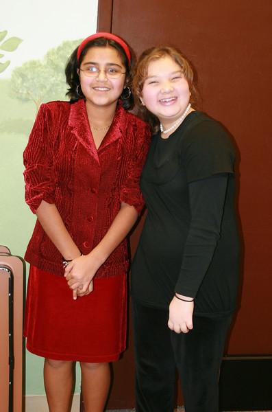 Liz and Jackie at Carols for Christmas