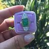 4.05ct Emerald and Old European Cut Diamond Ring 21