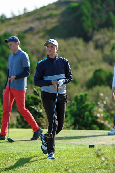 GR, Finnur Gauti Vilhelmsson Íslandsmót í golfi 2019 - Grafarholt 2. keppnisdagur Mynd: seth@golf.is