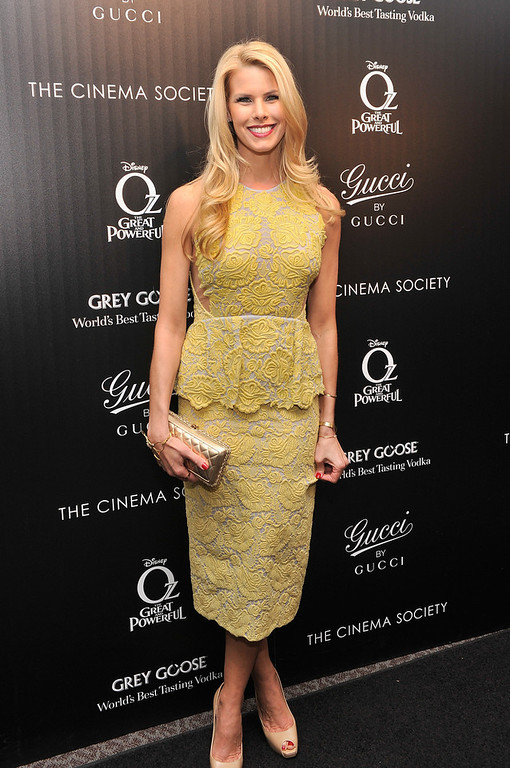 ". Actress Beth Ostrosky attends the Gucci and The Cinema Society screening of ""Oz the Great and Powerful\"" at DGA Theater on March 5, 2013 in New York City.  (Photo by Stephen Lovekin/Getty Images)"