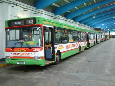 Lothian Buses Seafield Works and Marine Garage