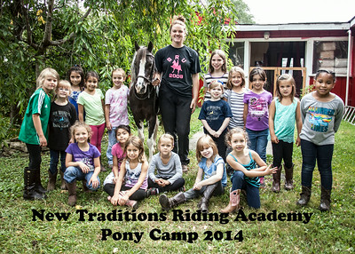 New Traditions Riding Academy-Pony Camp-August