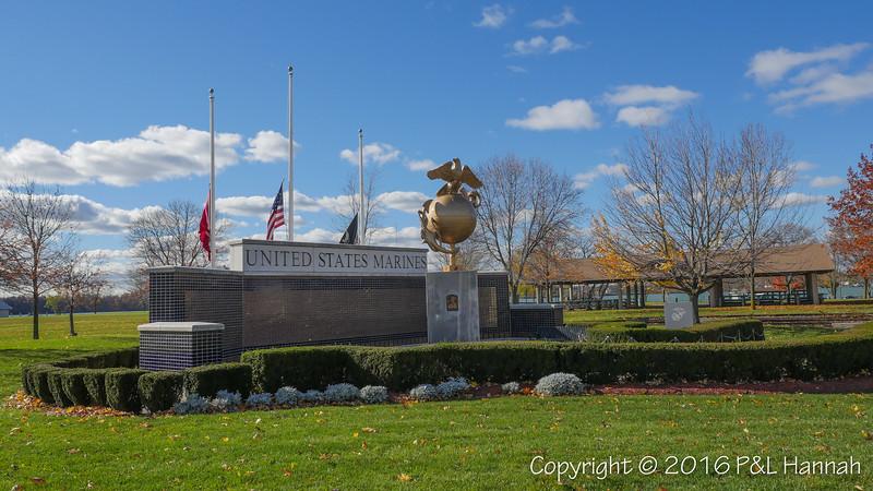 USMC & Seabee Memorials - Tonawanda, NY