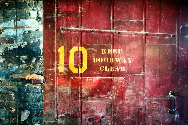 Keep Doorway Clear