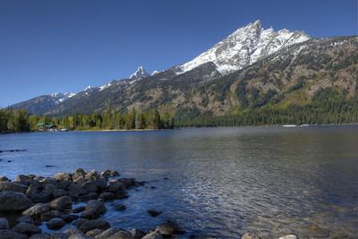 Jenny Lake, Grand Teton Park.