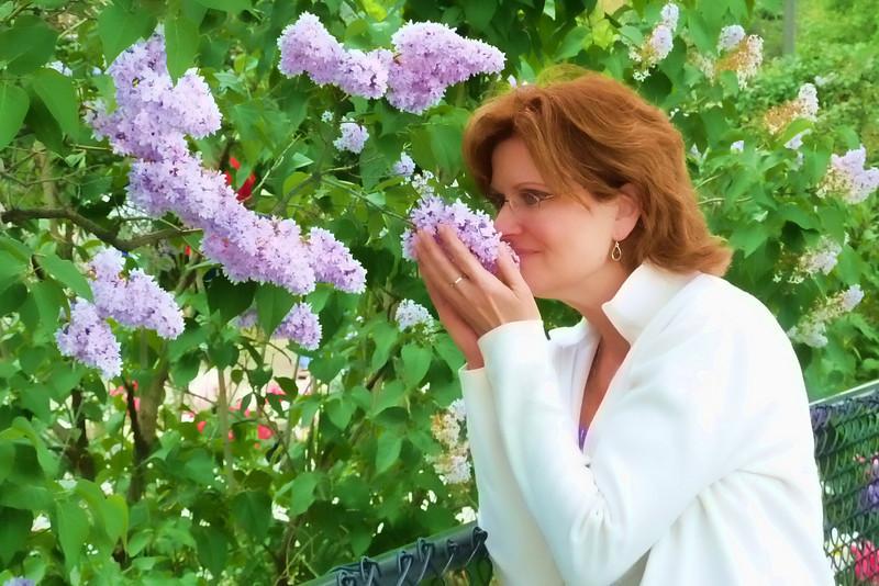 Joy smelling the flowers.jpg