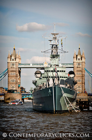 HMS Belfast, London England