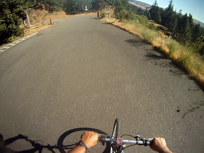 Bicycle routes in Oregon
