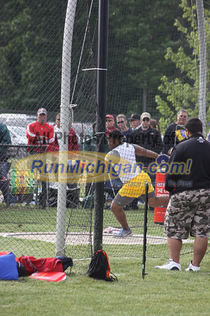 Discus Boys - 2012 MHSAA LP T&F Finals Division 1 by Pat C.