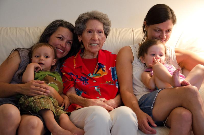 Grandma Gloria and G-kids  6-12