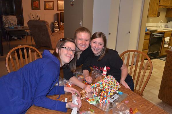 Ginger bread house December 2012