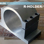 SKU: R-HOLDER/100, Φ100mm Solid Chromoly Steel Spindle Holder for Round Water Cool Spindle