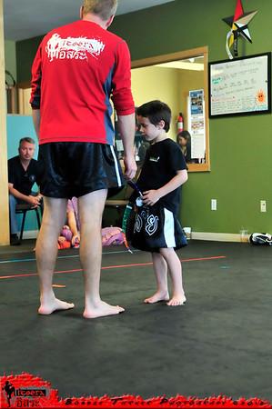Ninja Belt Ceremony 6/23/12