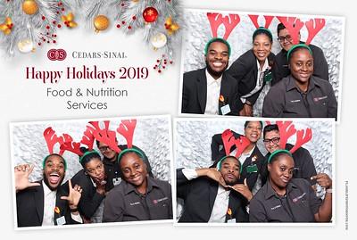 Cedars Sinai - Health & Nutrition Holiday Party 2019