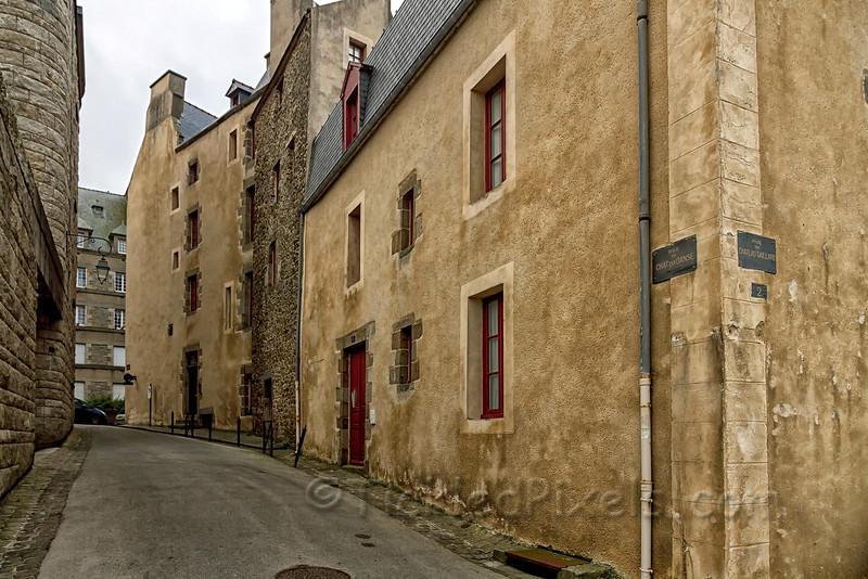 Rue du Chat Qui Danse, St. Malo