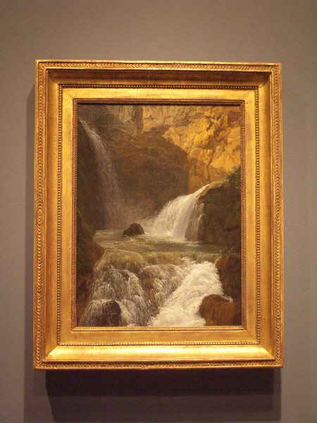 Waterfalls at Tivoli, 1788, Bidauld
