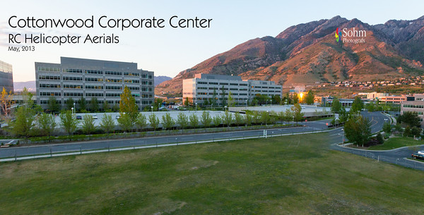 Cottonwood Corporate Center Helicopter Aerials