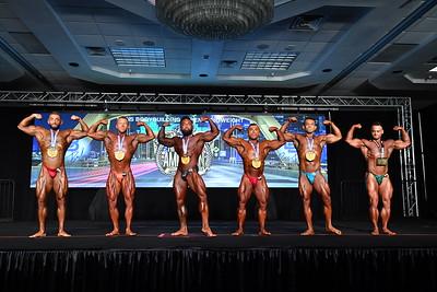 Men's Bodybuilding Open LW