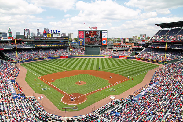 BASEBALL PARKS - TURNER FIELD - ATLANTA BRAVES